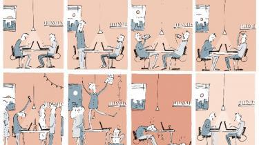 Også i tv har netværket erstattet samlebåndet. De sidste 15 år har den postindustrielle arbejdsplads dannet rammen om serier som 'Silicon Valley', 'The Office' og 'Sex and the City', der portrætterer vidensarbejdere på et konstant omskifteligt jobmarked. Og de behandler emnet med både hurraoptimisme og kritisk distance