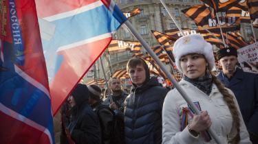 Ruslands storhed. Det er, hvad Putin tyer til for at opbygge befolkningens identitet: 'Sovjettiden, kejsertiden, etnisk nationalisme, Ivan den Grusomme. Alt tæller,' siger den russiske intellektuelle Maria Lipman.