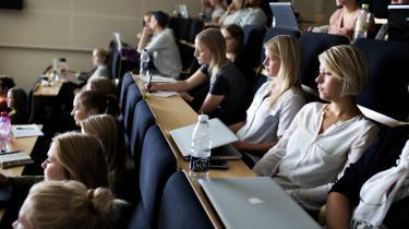 Akkrediteringsinstitutionen havde indstillet Humanistisk Informatiks bachelor- og kandidatuddannelser til en betinget positiv akkreditering.