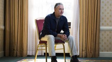Jon Stewart fotograferet under filmfestivalen i Toronto i efteråret 2014. Med hans afgang mister 'The Daily Show' en vært med en enestående evne til at blande passion, politisk analyse og en lige så begavet forståelse af det konstante karneval, der udgør amerikansk politik i dag.