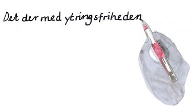 Efter lørdagens angreb på Krudttønden og Københavns Synagoge sidder følelserne uden på tøjet, og retorikken skærpes. Vi har bedt fem forfattere – Carsten Jensen, Merete Pryds Helle, Kirsten Thorup, Kristina Stoltz og Thomas Boberg – om fri af døgnet at fortælle, hvad ytringsfrihed betyder for dem, og hvad det er for en kamp for ytringsfriheden, der skal kæmpes i vores globale verden
