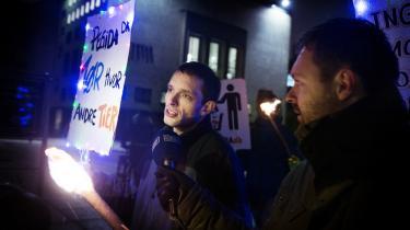 Fascisme. Er en gruppe som dansk Pegida, her med talsmand Nicolai Sennels, et udtryk for moderne fascisme?