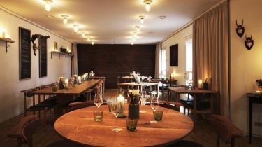 Attraktion. Restauranten er en af de mindre kendte byginger på Ordrup-gaards grund. Køkkenets ildsjæle har til dog åbenlyse ambitioner om at gøre kunstsamlingen rangen stridig som attraktion.