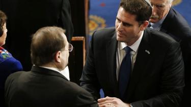 Israels USA-ambassadør Ron Dermer, der til Obama-regeringens store fortrydelse arrangerede Netanyahus tale i Kongressen – uden at orientere Det Hvide Hus.