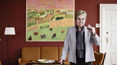 Kulturminister Marianne Jelved  (R) erklærer det danske foreningsliv sin kærlighed: 'Hvem er det, der har skabt Danmark? Det er det stærke civilsamfund. Ikke de folkevalgte.'