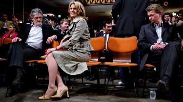 Den 12. april 2005 blev Helle Thorning-Schmidt i Forum i København udnævnt til formand for Socialdemokraterne, efter at hun havde slået Frank Jensen i en urafstemning blandt partiets medlemmer.