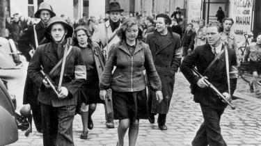 I 1990'erne rettede historikerne et nyt kritisk fokus mod de oversete aspekter af besættelsen, og pludselig kunne danskerne blandt andet læse historier om de såkaldte tyskerpiger.
