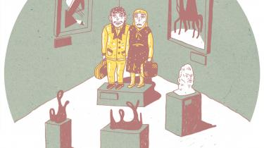 Erik Skyum-Nielsen, Tue Andersen Nexø, Lone Nikolajsen og Kamilla Löfström rapporterer her med forskelligt temperament fra den litterære verden