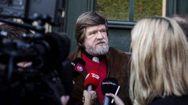 Næste uge fortsætter retssagen mellem koldkrigsprofesser Bent Jensen og Informations tidligere journalist Jørgen Dragsdahl (på billedet).