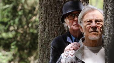Michael Caine som dirigenten Fred og Harvey Keitel som filminstruktøren Mick i Paolo Sorrentinos brillante 'Youth'. Foto: Filmfestivalen i Cannes