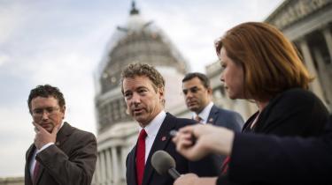 Den republikanske senator, Rand Paul, har været en af fortalerne for USA Freedom Act.