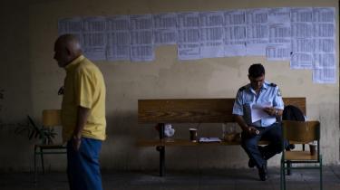 Gårsdagens folkeafstemning i Grækenland har delt landet i to
