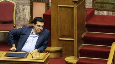 Den græske premierminister skal i denne uge både tumle sit oprørske bagland og lægge arm med eurozonen og IMF om nye reformkrav til gengæld for ny hjælpepakke. Samtidig strides IMF og Tyskland indbyrdes om gældseftergivelse