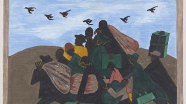 Under Første Verdenskrig migrerede mange afroamerikanere fra syd til nord.