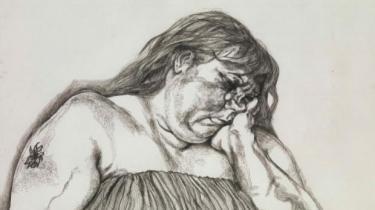 Louisiana præsenterer en række papirarbejder af Lucian Freud, som viser, at hans mesterlige evne til at udpensle kødet og huden som overflader med uanede dybder også lod sig udføre som grafik