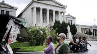 Grækerne kunne i går konstatere, at partiet Syriza havde vundet valget. Partiet fik godt 35 procent af de afgivne stemmer.