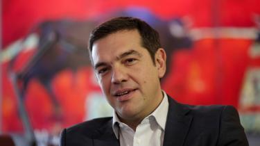 Alexis Tsipras – højt at flyve ...
