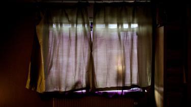 Meget få bagmænd dømmes for menneskehandel, fordi lovgivningen på området er snæver, mener politi og fagfolk. Her ses et bordel nær Viborg.