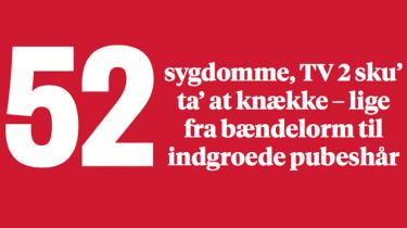 52 sygdomme TV2 burde knække