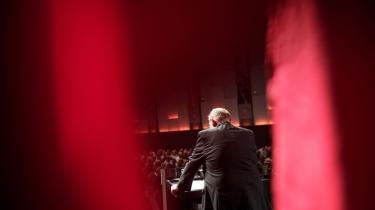 Harald Børsting ved LO-kongressens åbning.