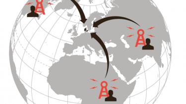 Oplysninger om danskeres opkald og sms'er bliver gemt i ét år af de danske teleselskaber på grund af de såkaldtelogningsregler. Disse oplysninger vil FE fremover kunne få adgang til, hvis personen er under mistanke for at havedeltaget i terroraktiviteter i udlandet