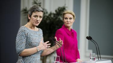Overpulverheks i Henrik Qvortups nye bog om Thorning-regeringen er de radikales Margrethe Vestager, som Qvortrups kilder ikke har meget godt at sige om: Hun er lunefuld, nedladende, belærende, hoven og uforskammet.