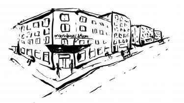 En lille provinsiel landsby med dens middelklassepar, junkier, handlede kvinder, hipstere, byfornyelse, turister, baggårde, pushere, børnefamilier, pornobutikker, rumænere, lille Chinatown og grønthandlere – en lille postmoderne Morten Korch-idyl
