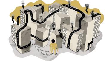 Nairobi er en økonomisk 'hub', hvor der hele tiden bygges nye storcentre til en voksende middelklasse. Men ikke alle får del i velstandsstigningen, fortæller Finn Rasmussen, der bor i byen og arbejder med mediefrihed i Somalia