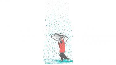 Den hvide paraply