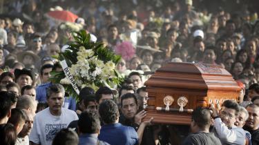33-årige Gisela Mota blev myrdet mindre end 24 timer efter, at hun blev indsat som borgmester i den mexicanske by Temixco.