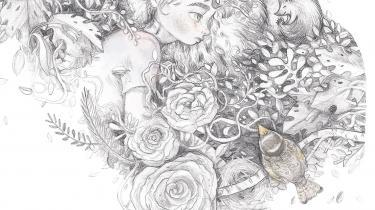 Billedbogen 'Pigen med de ravgyldne øjne' vil så gerne være en poetisk fortælling om længsel, svigt og kærlighed. Trods fine blyantstegninger lykkes det langtfra