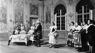 En opsætning af Mozarts 'Così fan tutte' fra starten af 1900-tallet.Arkiv