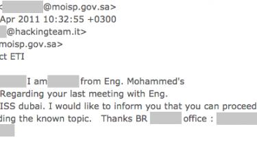 Lækkede e-mails viser, at et dansk it-firma stod til at skulle levere overvågningsudstyr til Saudi-Arabien. Netop overvågning og forfølgelse af menneskeretsaktivister har hjulpet kongedømmet til at kvæle en spirende demokratibevægelse
