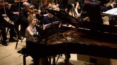 Solist Katrine Gislinge.
