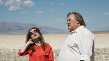 Isabelle Huppert og Gérard Depardieu spiller tidligere ægtefæller i det franske kammerspil, 'Valley of Love'. Foto: Filmbazar