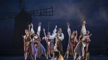Der er sus i sigøjnerskørterne i Den Kongelige Ballets veloplagte nyopsætning af 'Don Quixote'.