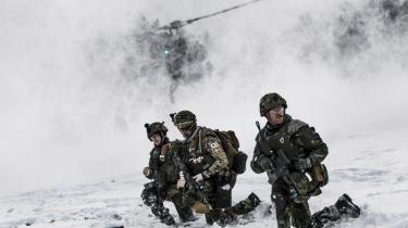 Danmark er klar til at bidrage med 150 soldater til en NATO-bataljon på 6.000 mand, der skal fordeles mellem Baltikum, Polen, Rumænien og Bulgarien.