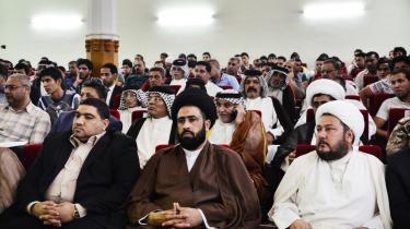 Den 1. maj fejrede  iranskstøttede shiamuslimske milits Ansar Allah i Irak arbejdernes internationale kampdag.