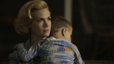 I tv-serien Mad Men har Betty Draper, spillet af January Jones, et ret anstrengt forhold til sine børn.