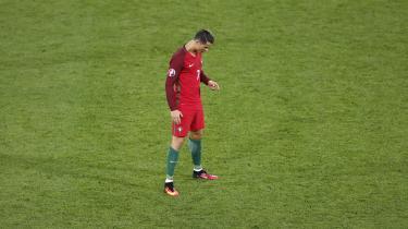Naturtaletet Cristiano Ronaldo.