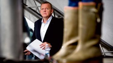 Lars Løkke Rasmussen på Folkemødet.