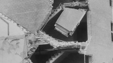 Den 31. oktober 1944 angreb det britiske luftvåben Aarhus Universitet. Her havde det tyske sikkerhedspoliti Gestapo i 1943 beslaglagt kollegiebygningerne 4 og 5, hvorfra de i 1944 var godt i gang med at optrevle hele den jyske modstandsbevægelse. Bygningerne og Gestapos arkiv over modstandsbevægelsen blev jævnet med jorden, og omkring 75 mennesker mistede livet – heriblandt 11 danskere. I dag er det eneste synlige spor et skudhul i et rækværk på en af kollegiebygningerne.