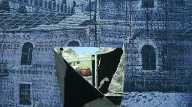 Alexandra Sophia Handals værk 'No Parking without Permission, Jerusalem, Mamillah'. Foto af kunstneren