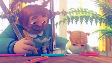 Billede fra Ida Andreasens afgangsfilm fra Filmskolens animationslinje, 'I familie'. Foto: DR