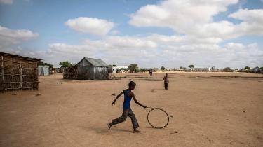 africa, refugees, children, play