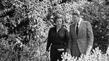 Det var Ronald Reagan og Margaret Thatcher, som i 1980'erne stod fadder til neoliberalismens dominans som herskende økonomisk paradigme. Med valget af Trump synes den epoke at være slut