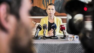 Johanne Schmidt-Nielsen fra Enhedslisten mener, at daværende justitsminister Mette Frederiksen (billedet) fik foretaget stramninger af udlændingeloven under falske forudsætninger.