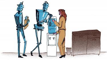 Robotter og algoritmer er svære at organisere og få til at strejke. Hvad stiller fagbevægelsen op med et arbejdsmarked, hvor en del af kollegerne udgøres af kunstig intelligens?