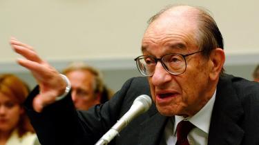 Ideologisk er Allan Greenspan helt på det rene med reguleringens natur, men valgte alligevel igen og igen at acceptere hjælp til banker, der hvade kvajet sig.