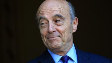 Alain Juppé er forhåndsfavorit til at blive præsidentkandidat for det republikanske parti i Frankrig